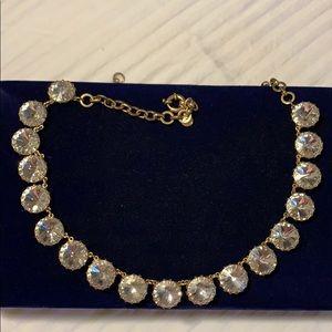 J Crew Crystal Necklace